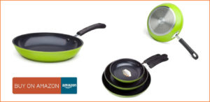 Ozeri Green nonstick pan