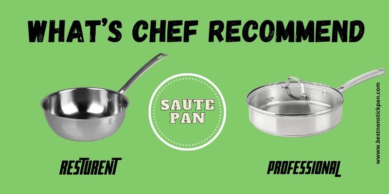 Restaurant Sauté Pan or Professional Sauté Pan