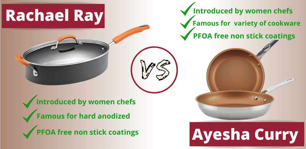 Comparison Ayesha Curry and Rachael Ray